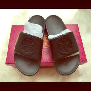 Brand New Tory Burch Lina Slides Size 7